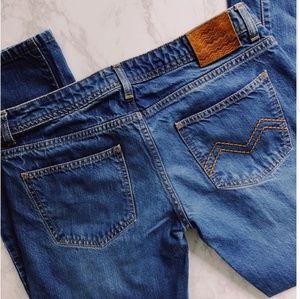 Missoni Cropped Boyfriend Jeans